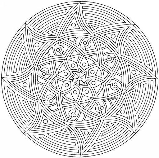 Pin Von Sherrilldavidson Auf Mandaly Einhorn Zum Ausmalen Ausmalbilder Mandala Kostenlos
