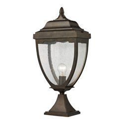 ELK Lighting 27013/1 Brantley Place 1 Light Post Lights & Accessories in Hazelnut Bronze by ELK Lighting. $138.00. Brantley Place 1- Light Outdoor Post Light in Hazelnut Bronze