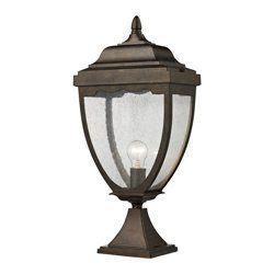 ELK Lighting 27013/1 Brantley Place 1 Light Post Lights & Accessories in Hazelnut Bronze by ELK Lighting. $138.00. Brantley Place 1- Light Outdoor Post Light in Hazelnut Bronze