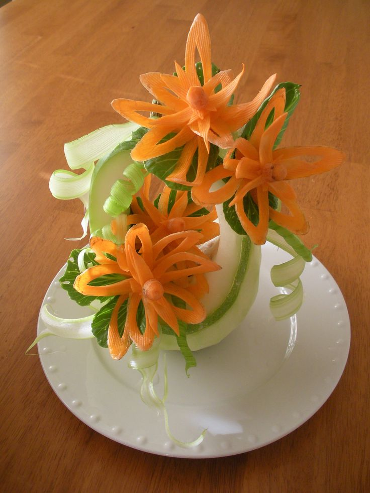Best vegetable carving ideas on pinterest fruit
