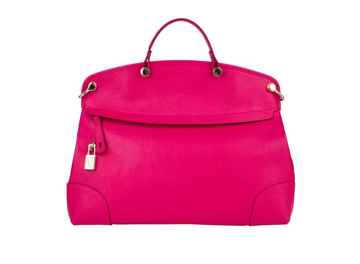 Think pink! ;) Colour your look with this beautiful #Furla bag
