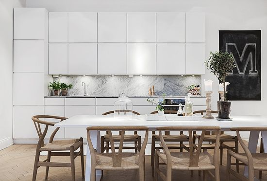 Marble in the kitchen | Stylizimo Blog