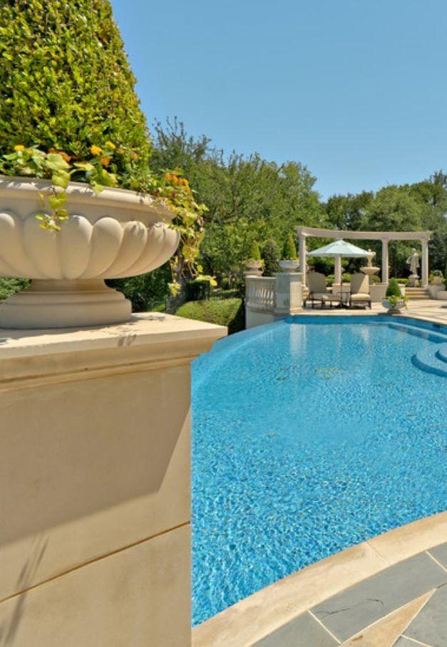 Luxurious backyard and pool