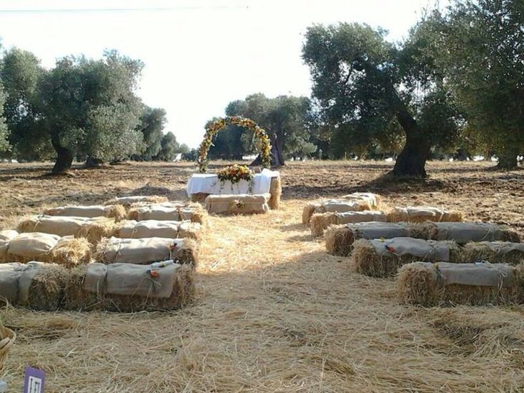 Tutto pronto per i nostri Sposi ! Country wedding in Masseria Quis Ut Deus