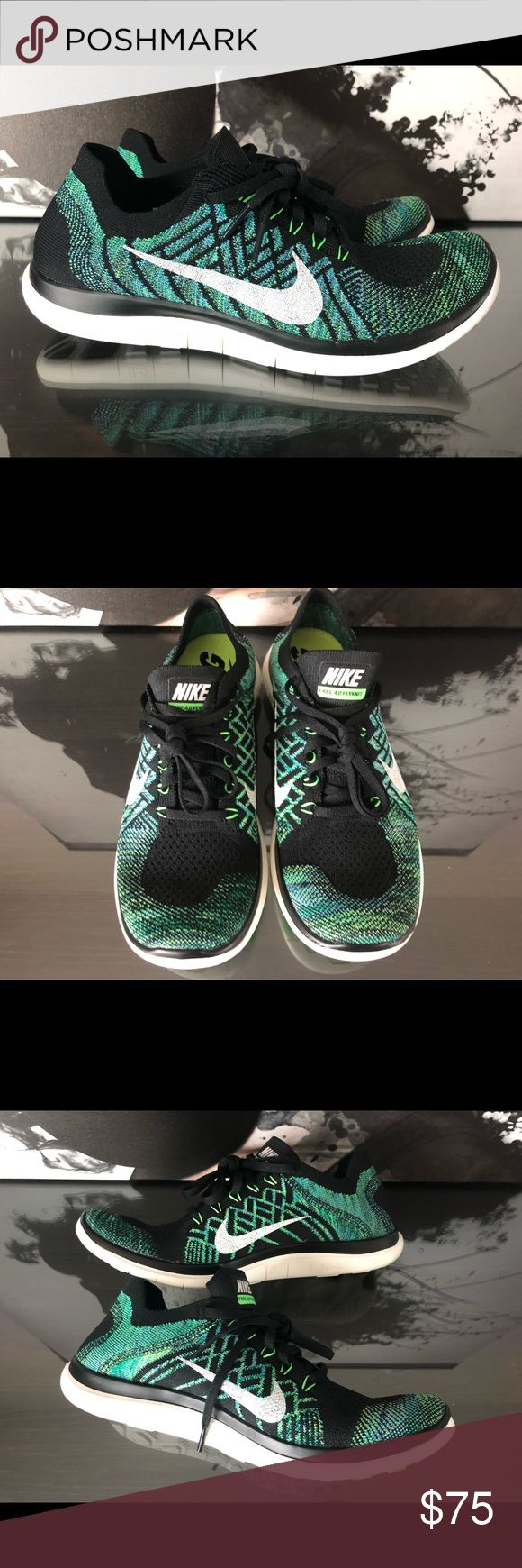 WOMENS Nike Free 4.0 Flyknit   NEW   Voltage Green ☑️ Shoes are brand new, with box! ☑️ Box is missing the lid/ box top.  ☑️ Will ship out within 24 hours.  ❌ No transactions outside of Posh   All my inventory in posh comes from my eBay store page, (cross listed) so prices are competitive with that platform as well.   Stores.ebay.com/premiumlacesthreads Nike Shoes Athletic Shoes