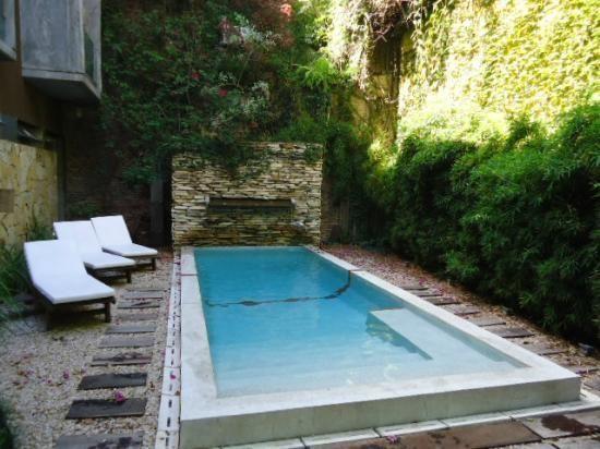 Small Pool Backyard, Small Backyard Pools, Small Pools, Small Backyards, Swimming  Pool Designs, Swimming Pools, Small Yards, Back Yard, Google Search