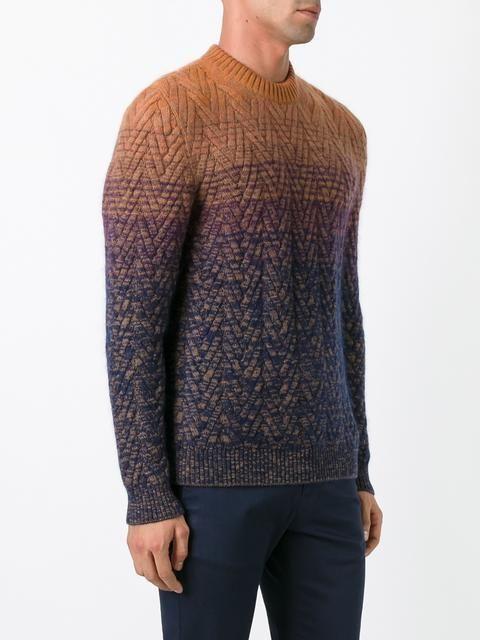 Missoni degradé effect pullover