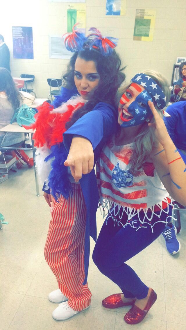 Merica Day for Spirit Week!                                                                                                                                                     More