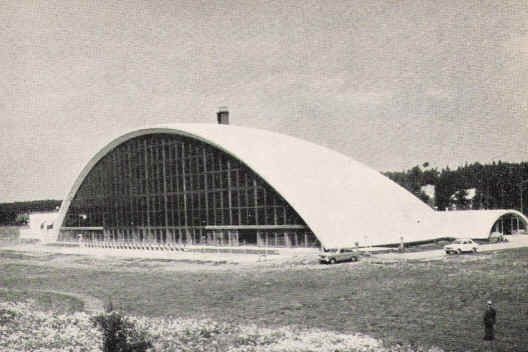 Tikkurila swimming hall in 1964