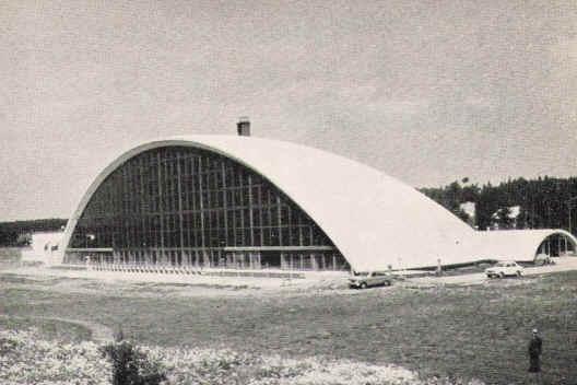 Tikkurila swimming hall in 1964