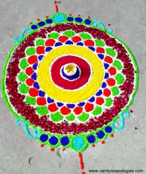 DIY Rangoli designs
