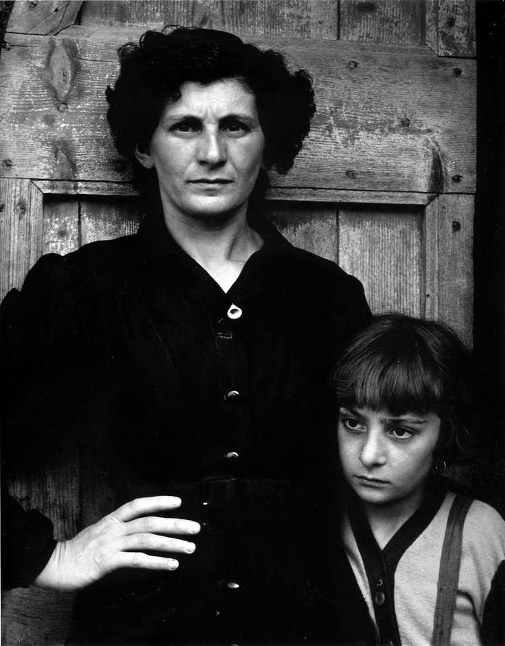 Paul Strand: The Postmistress, Luzzara, Italy, 1953.
