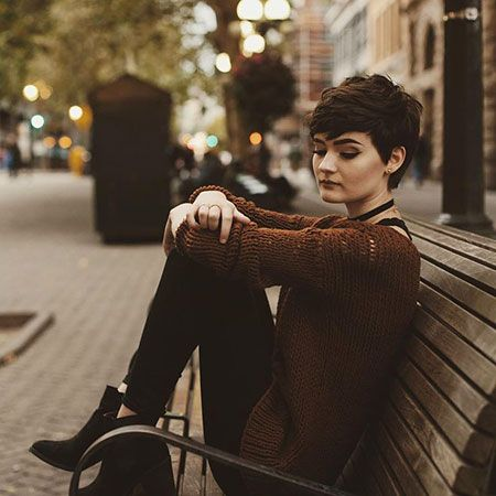 23 New Pixie Cut with Bangs 2017