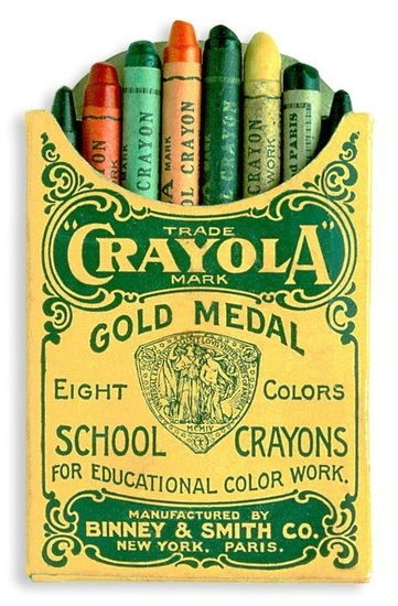 Limited Edition Crayola Original 8-ct. Box: In honor of the 110th anniversary of the first box of eight Crayola crayons, the company is selling a limited edition version of the 1903-style Crayola crayon pack through their Facebook page. The Limited Edition Crayola Original 8-ct. Box ($5) features the five colors that started it all, with new nicknames created by consumers.