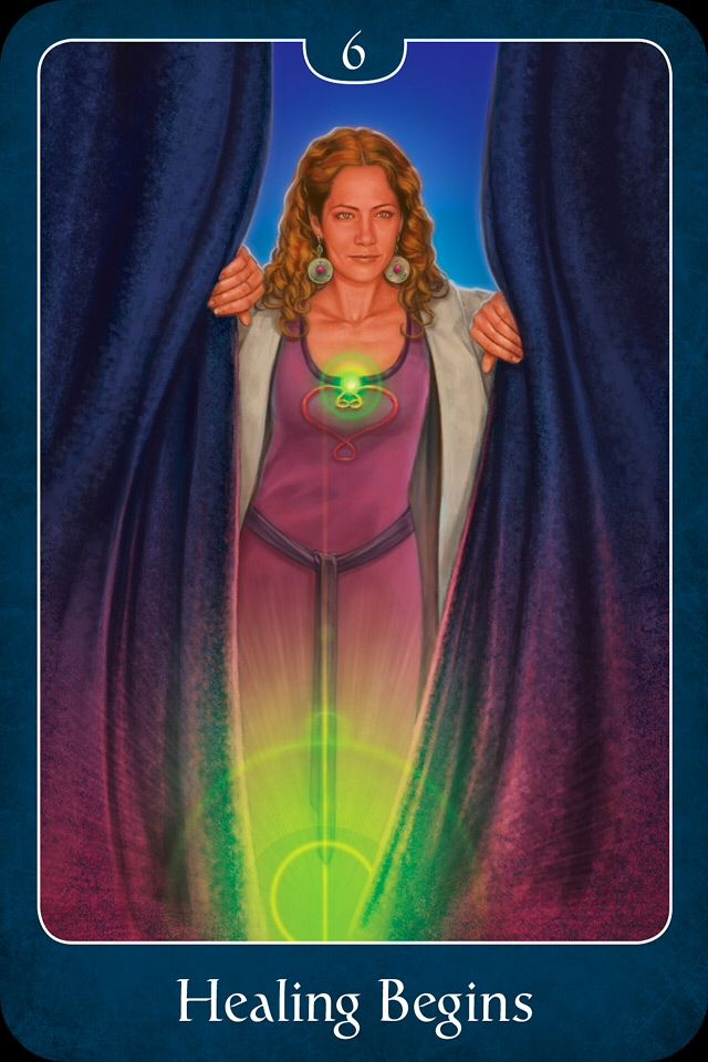 Psychic Tarot Cards Meanings: Healing Begins, From The Psychic Tarot For The Heart