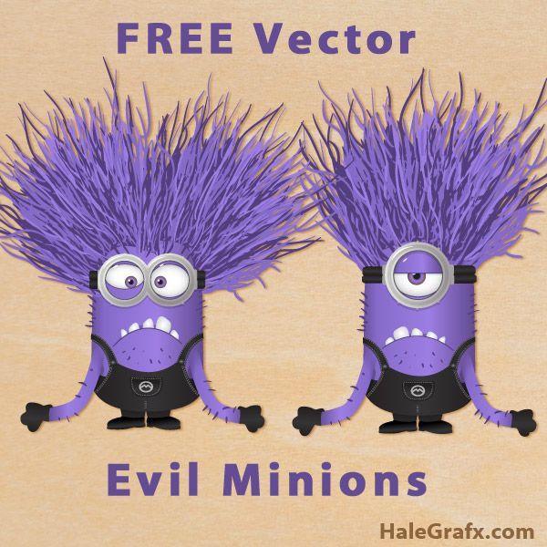 evil minions vectors FREE Vector Despicable Me 2 Evil Minions