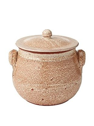 COLI Bakeware Round Rustic Traditional Stockpot (Speckled Oatmeal)