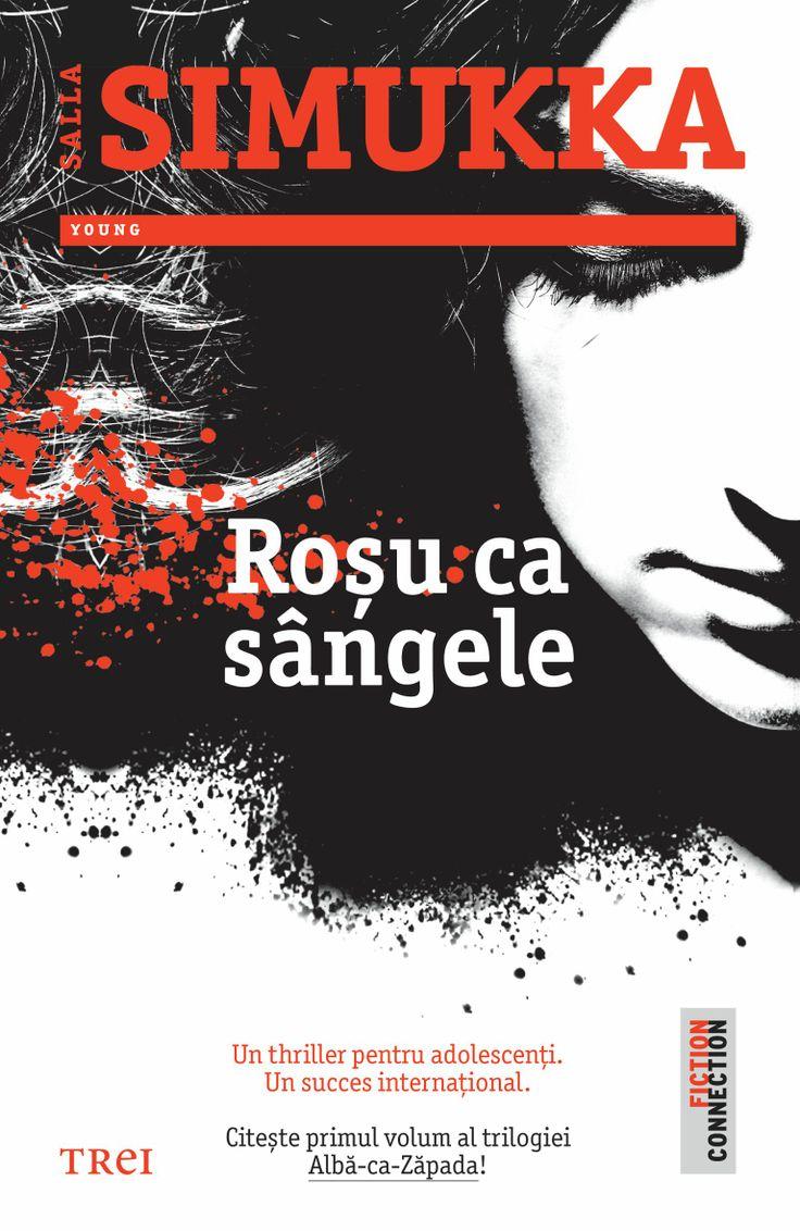 """Salla Simukka cucerește lumea. """"Roșu ca sângele"""", primul volum din trilogia Albă ca zăpada, a fost vândut în 43 de țări până în prezent. În Țările Nordice autoarea finlandeză este deja un fenomen. Criticii literari au doar cuvinte de laudă la adresa cărții """"Roșu ca sângele""""."""