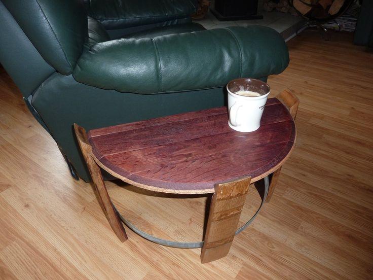 Half End Table – ReWined Barrel Creations