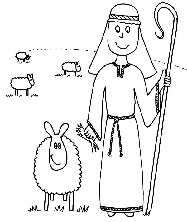 David The Shepherd Boy David The Shepherd Boy Taking His Sheeps