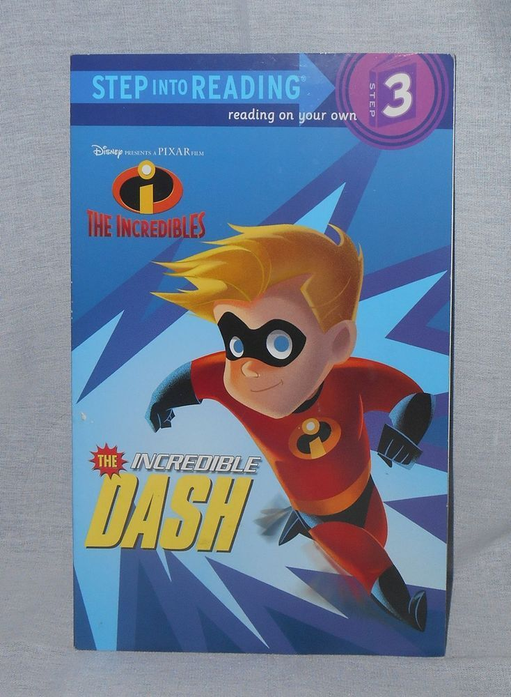 The Incredibles - The Incredible Dash Step Into Reading Step 3 #Pixar