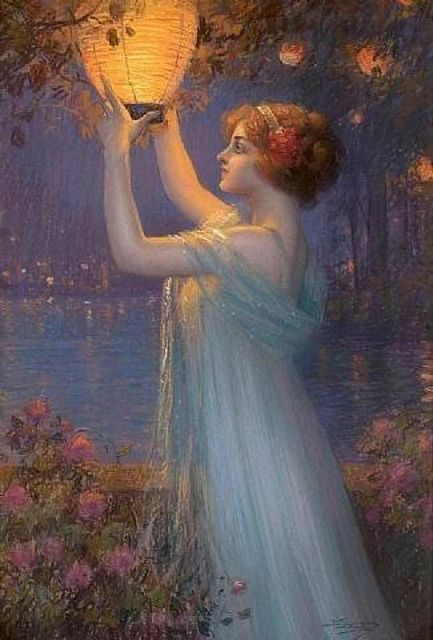 Delphin Enjolras - Japanese Lantern by irinaraquel, via Flickr