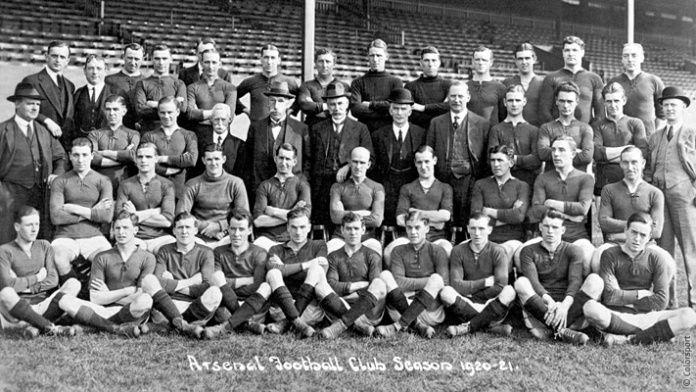 arsenal original team photo - Google zoeken
