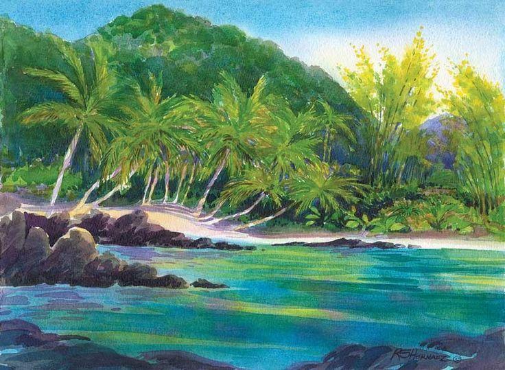 Карибский рай. Сент-Джон, Виргинские Острова: Не далеко от знаменитого Транк Бэй лежит изолированный, пальмовый пляж на острове Сент-Джон.