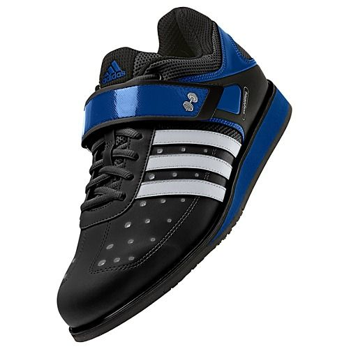 Inspired by Olympic weight-lifting shoes, these adidas Power Lift Trainer shoes give you that big-man swagger. They feature a lockdown strap over the laces, a stable EVA midsole and a special plate designed to distribute your weight evenly.