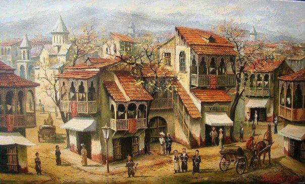 Ладо Шарашидзе. «Старый Тбилиси».2013 г.
