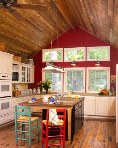 Log Home Kitchens Real Log Style: Best 25+ Cedar Homes Ideas That You Will Like On Pinterest