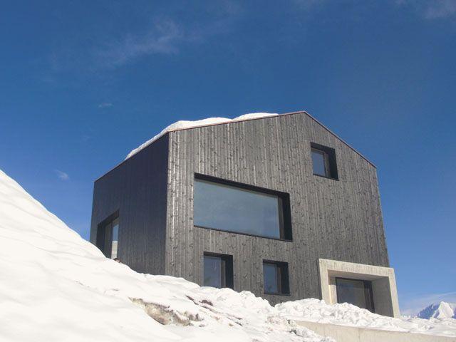 Project: Lumbrein Residence  Description: Single Family Vacation House  Location: Graubunden, Switzerland  Date: 2010