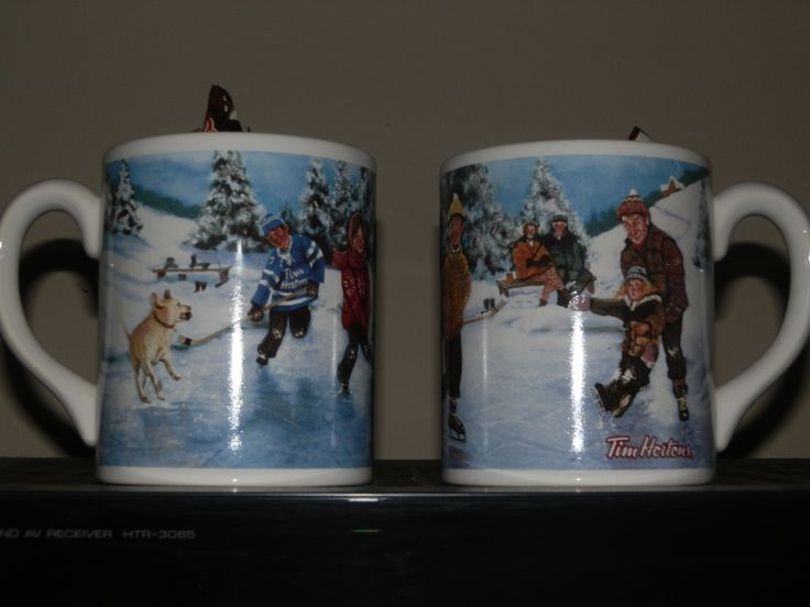 Found these 10 year old Tims Christmas mugs tonight at a local Timmy's! Sweet!