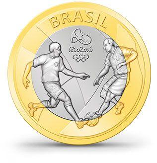 Futebol Moedas - Rio 2016