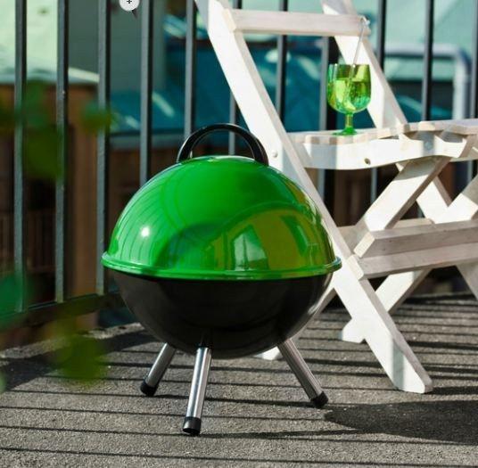#green #barbecue by #Sagaform available on #flooly  www.flooly.com/ie/sagaform-arancio-bbq-arancione-smaltato/14742