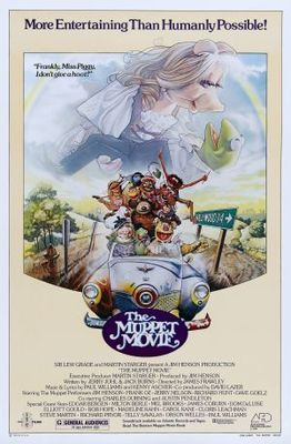 The Muppet Movie (1979) movie #poster, #tshirt, #mousepad, #movieposters2
