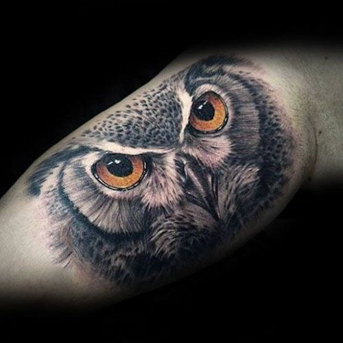 125 Best Owl Tattoos For Men Cool Designs Ideas 2019 Guide