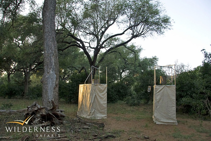 Pafuri Walking Trail - Comfortable walk-in dome tents with separate hot bucket showers and 'eco-loos' accommodate a maximum of eight trailists.