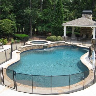 Removable Pool Fence with Lock-in-Deck Posts | Protect-A-Child