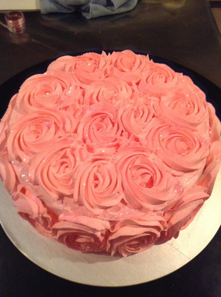 17 Best ideas about Rose Swirl Cake on Pinterest Swirl ...