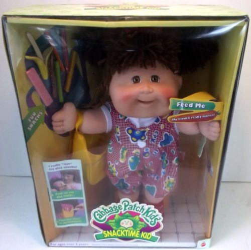 I Had One Of These Until It Got Recalled 1995 Cabbage Patch Snacktime Kids Doll Picked 5 00 Sold 95 Remember When Pinterest