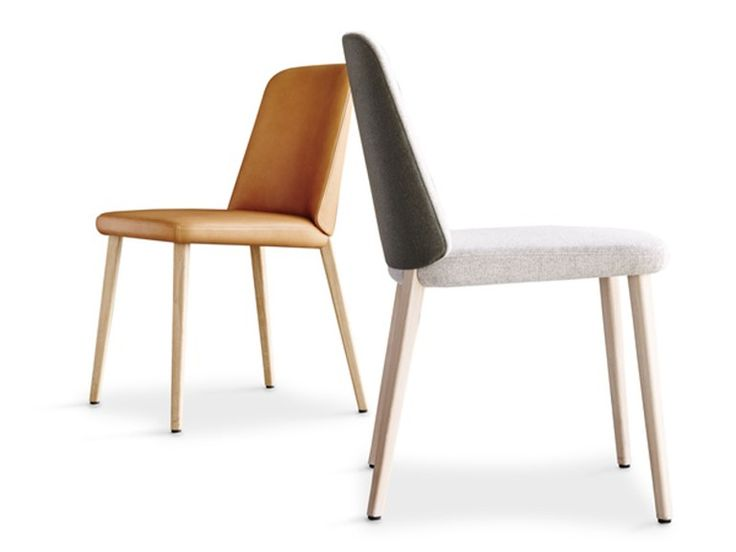 Upholstered chair BACK ME UP by Montis design Arian Brekveld