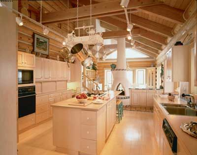 A large kitchen like this one can be a space to live in as well as simply prepare meals.