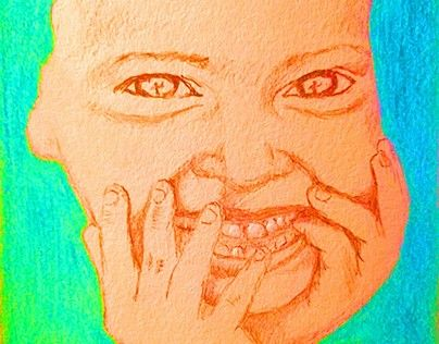 """Check out new work on my @Behance portfolio: """"Laugh"""" http://be.net/gallery/50019041/Laugh"""