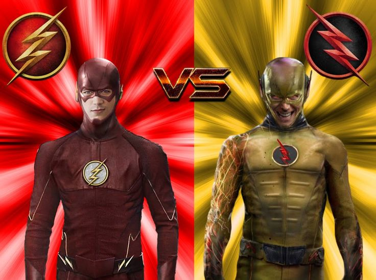 The Flash vs The Reverse-Flash ALL FIGHT! - YouTube