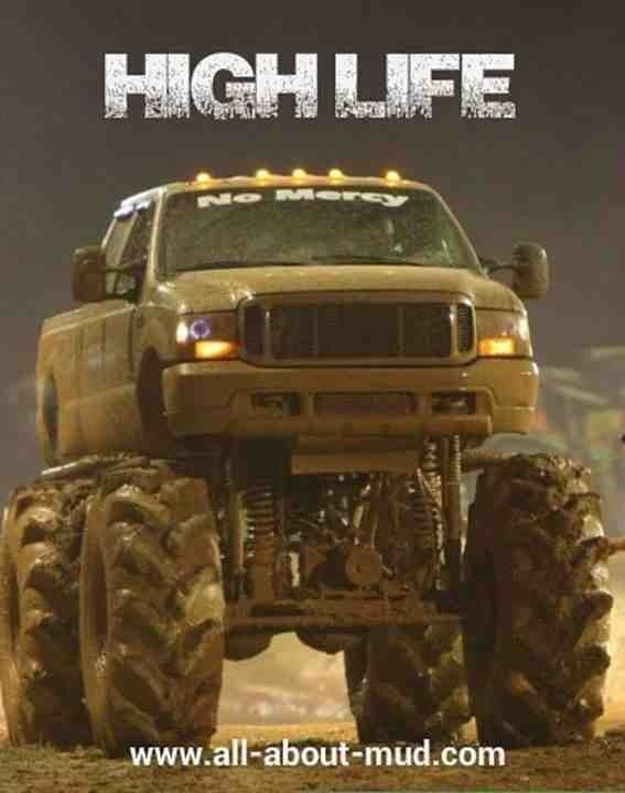 Ford mud truck