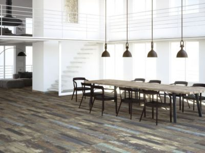 Luck Brown Wood Plank Porcelain Tile 8in X 45in