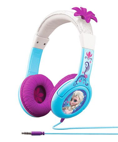 Look what I found on #zulily! Frozen Headphones by Frozen #zulilyfinds My daughter loves this movie and I know this will be her theme for her birthday and this winter holiday too.