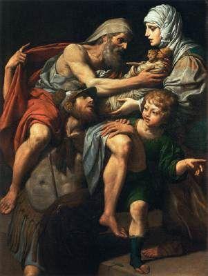 Aeneas and Anchises - Lionello Spada