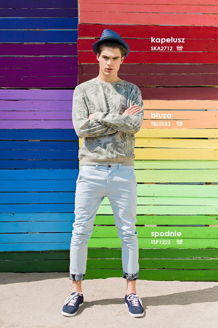 #Bluza męska w liście palmowe to hit lata 2015. zobacz letnią kolekcję #troll
